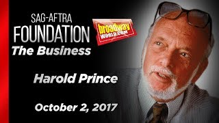 Harold Prince on The Business