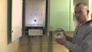 Подключение комнатного термостата или программатора котла.(В видео рассказано как подключить термостат к котлу. Как уменьшить расход газа газовым котлом. Расход газа..., 2014-12-29T11:53:19.000Z)