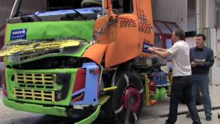 Volvo Trucks - Appetite for destruction: Welcome to the crash factory
