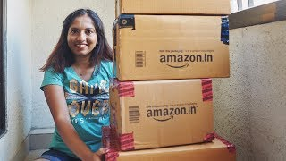 Amazon India Food  Pantry Haul March 2018  MagaliVlogs
