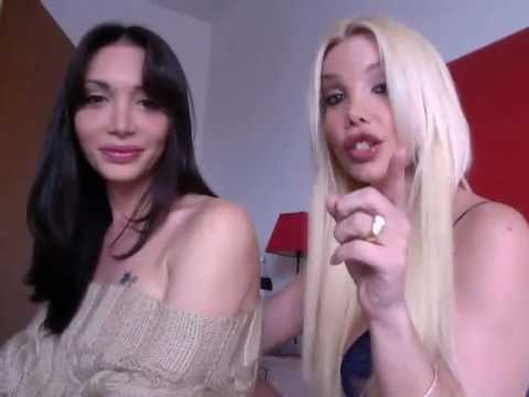 Ana Mancini and Mariana Cordoba transsexual  Goddess