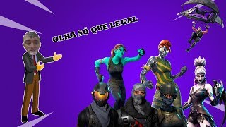 SHOWING MY ACCOUNT-SKINS, DANCES, BACKPACKS, PICKS-#Fortnite