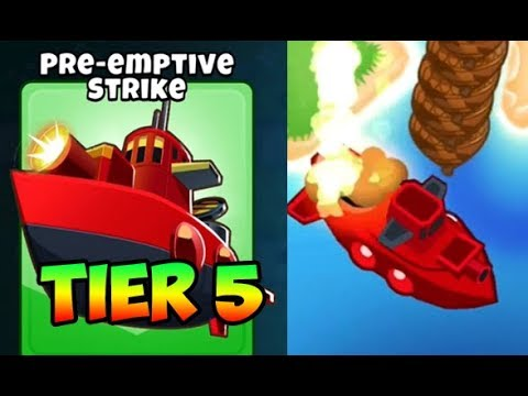 Bloons TD 6 - PRE-EMPTIVE STRIKE - 5TH TIER SUBMARINE