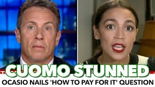 Ocasio-Cortez Makes Cuomo Look Dumb For 'How Do You Pay' Question