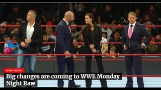 #RAW Big changes are coming to WWE Monday Night Raw FULL DETAILS
