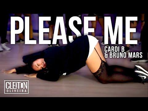 Please Me - Bruno Mars feat Cardi B COREOGRAFIA Cleiton Oira  IG: CLEITONRIOSWAG