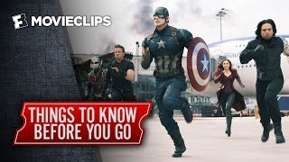 The Russo Brothers' Things To Know Before Watching Captain America: Civil War (2016) HD