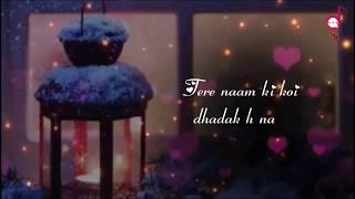Download lagu Dhadak Title Song Lyrics || 💗Tere Naam ki Koi Dhadak Hai Na💗|| Just for love status ||