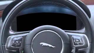 Новый Jaguar XJ | органы управления на рулевом колесе