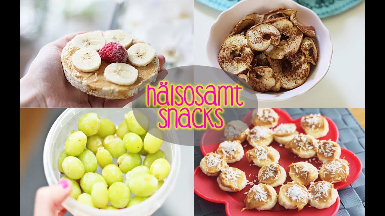 Enkla nyttiga snacks