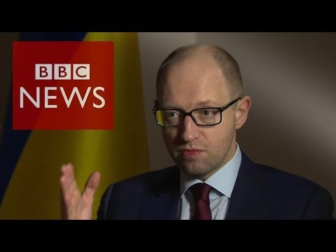 'We'll retaliate if Russia attacks' Ukraine PM Arseniy Yatsenyuk- HARDtalk - BBC News
