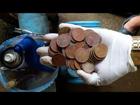 How to clean coins in less than a minute