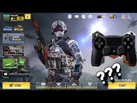 PS4 Controller compatible with | Call of Duty: Mobile | or not?!!
