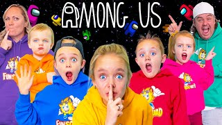 Among Us In Real Life with The Fun Squad! Who Is The Best Imposter?