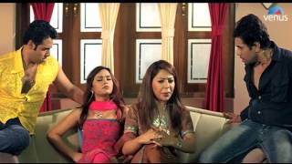 Sanya and Maria (Laila Khan) are upset that they haven't gone on a holiday, since their marriage