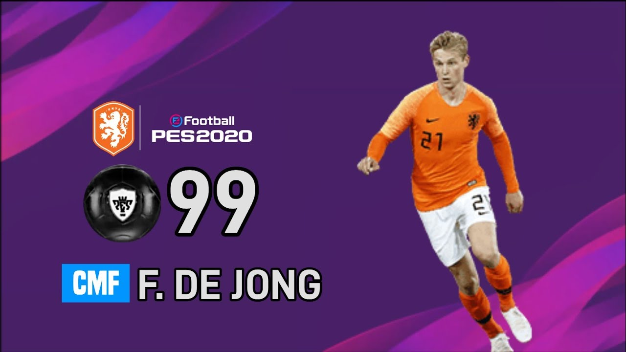NETHARLANDS NATIONAL SELECTION JUL 06 '20 MAX RATINGS • PES 2020 MOBILE