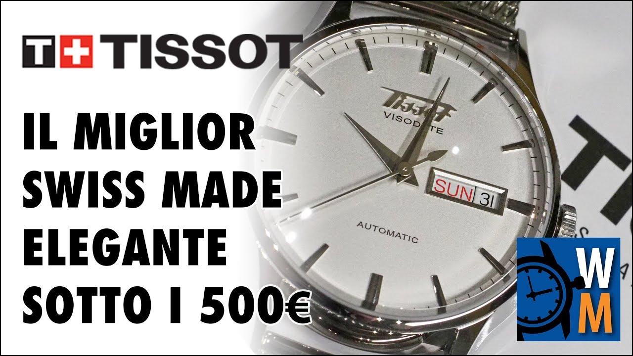 in vendita 936d9 05029 Tissot Visodate, il miglior dress watch svizzero sotto i 500€
