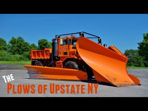Looking At Trucks - Massive Snow Plows