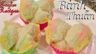 Cách Làm Bánh Thuẫn,  Bánh Bông Lan Hấp Hương Vị Thơm Ngon Đẹp Mềm Và Xốp - Steamed Sponge Cake