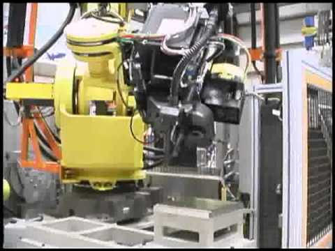 Comau Mobile Robotic Drilling Platform