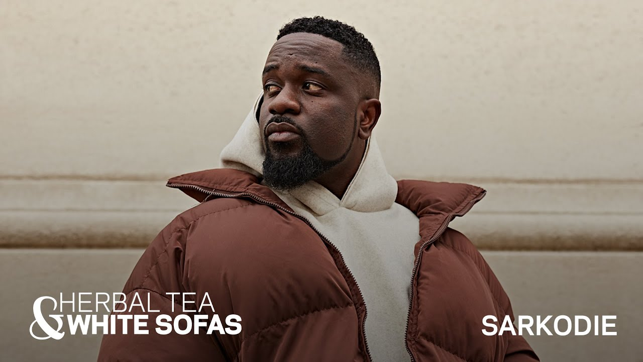 Why Ghanaian Afrobeats Artist Sarkodie Loves Local Culture And His Fans | Herbal Tea & White Sofas