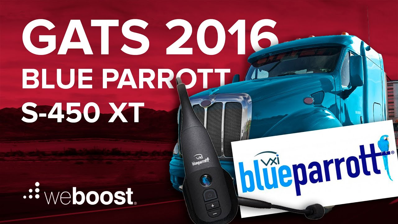 195e718da9a GATS 2016 - Blue Parrott S-450 XT bluetooth headset | weBoost - YouTube