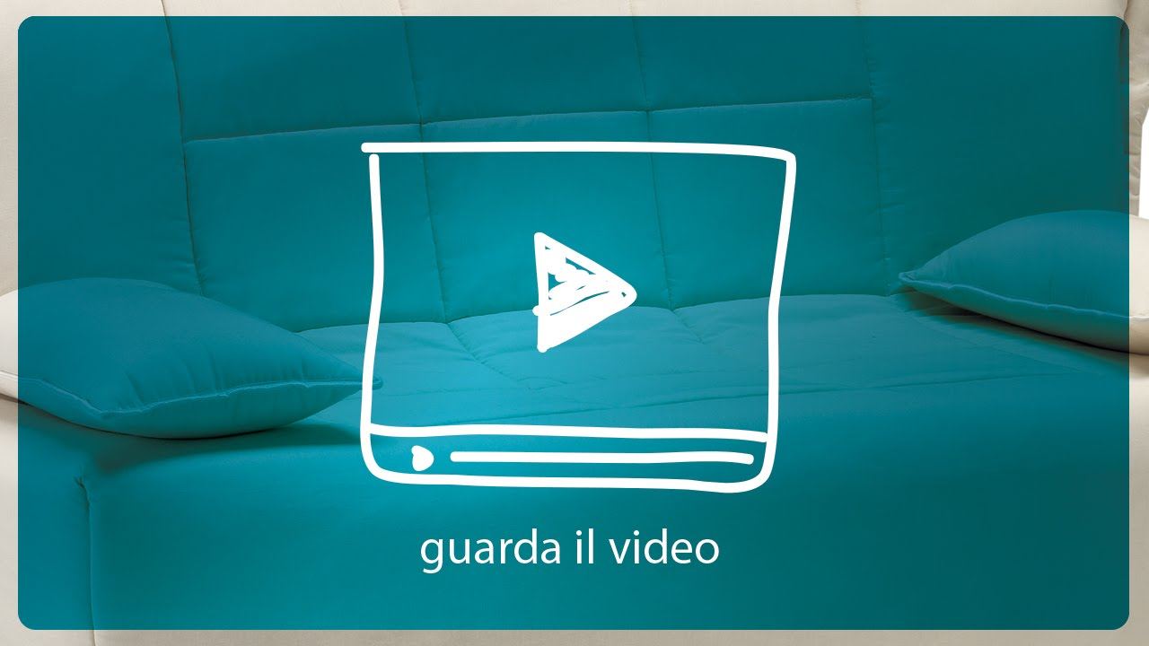 Divano Letto Prontoletto mod. Open - YouTube