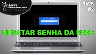 System Password Enter Password - Remover e resetar senhas de BIOS, FlashRom e CMOS