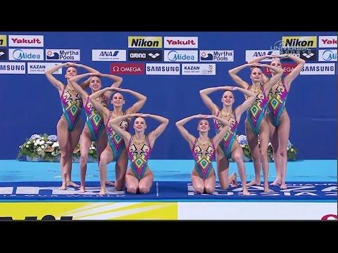 Russia wins 2015 Synchro Team Tech Champs - Universal Sports