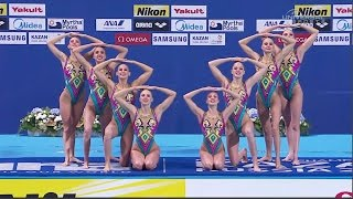 Russia wins 2015 Synchro Team Tech Champs - Universal Sports