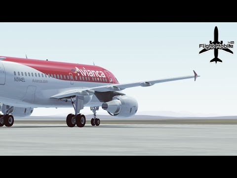 [Infinite Flight] Voando Avianca Mega Evento | A318 | Brasíl