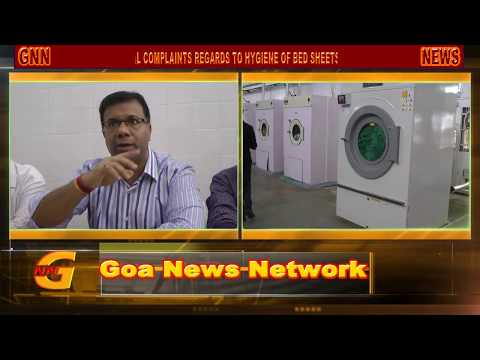 GOA NEWS : ALL GOV.  HEALTH SERVICES WILL BE LINKED TO GMC FOR LAUNDRY CLEANING : VISHWAJIT RANE