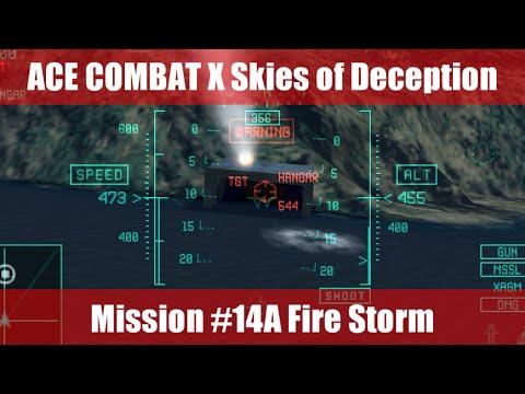 [M:14A] エースコンバットX スカイズ・オブ・デセプション/ACE COMBAT X Skies of Deception