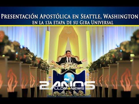 Presentación Apostólica en Seattle, Washington en la 13a etapa de su Gira Universal