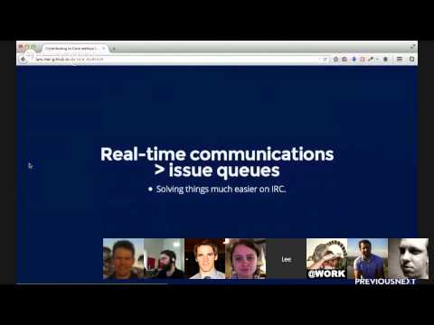 Lightning talk: Contributing to Drupal core without losing your mind