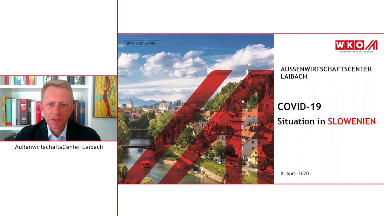 Durchfahrt Slowenien Corona