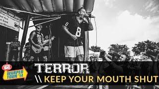 Terror - Keep Your Mouth Shut (Live 2014 Vans Warped Tour)