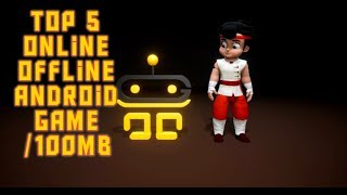 Top 5 online offline Android game 2019 high graphics game