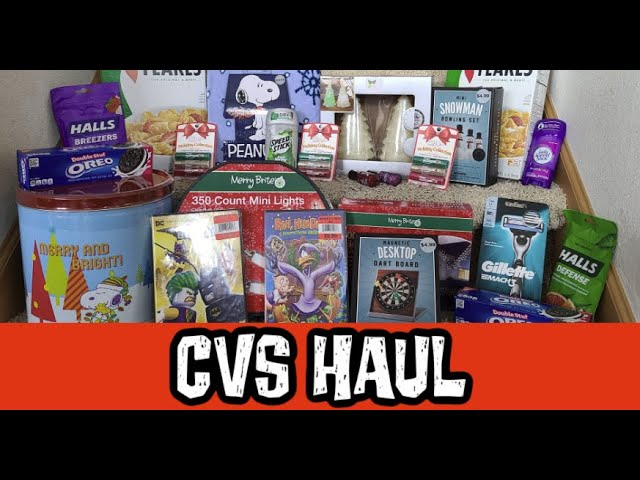 When Does Cvs Christmas Go 90% Off In 2021 Cvs Couponing Haul 90 Off Christmas January 17th 23rd 2021 Youtube