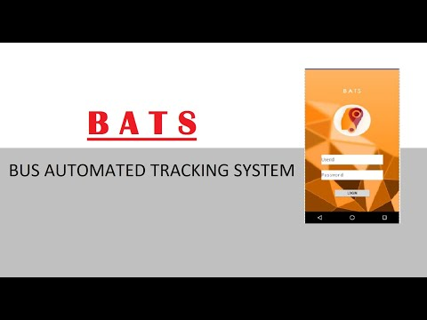 Bus tracking system project in android studio