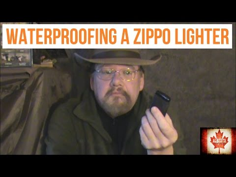 Waterproof Zippo Lighter – A Video Response to Far North Bushcraft and Survival