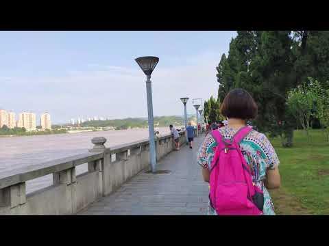 【4K】🌍 Yangtze Riverside Walk: Relaxed daily life in China