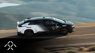 Faraday Future | Testing FF 91 | Approach to Pikes Peak