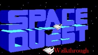 Space Quest 2: Vohaul's Revenge Walkthrough (No Commentary)