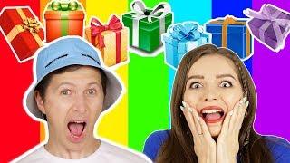 НЕДЕЛЯ ПОДАРКОВ! Обмен подарков по цветам! Радужные подарки!
