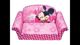Review: Marshmallow Children's Furniture - 2 In 1 Flip Open Sofa - Disney's Minnie Mouse Bow-tique