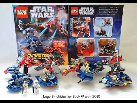 Lego star wars brickmaster scholastic book