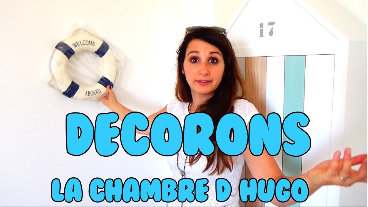 Toute La DÉco De La Chambre D'hugo!  Youtube
