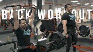 Complete Back Workout for Mass