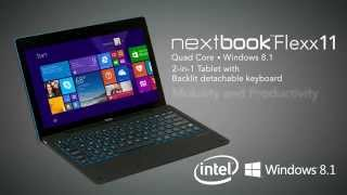 Nextbook Flexx 11 Windows 2-in-1 tablet